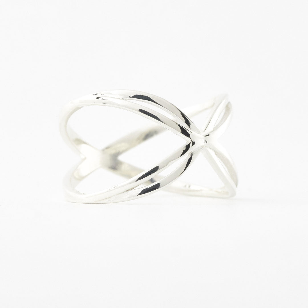 925 sterling silver 3d printed Awakening Butterfly Ring