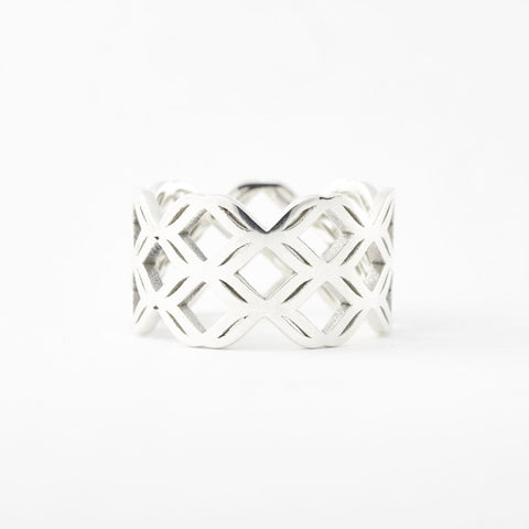 The Guarding Butterflies Ring | 3D Printed Jewelry | 3D Printing Fashion