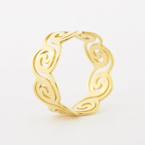 The Dream Wave Ring | 3D Printed Jewelry | 3D Printing Fashion