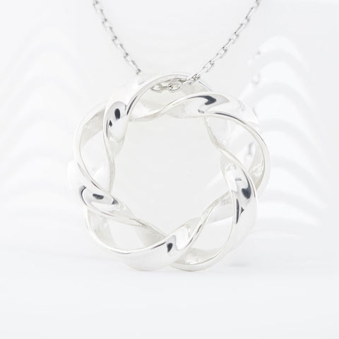 The Infinity Wave Pendant | 3D Printed Jewelry | 3D Printing Fashion