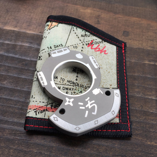 Dirte Ti Diver with HBH Map Pocket Caddy