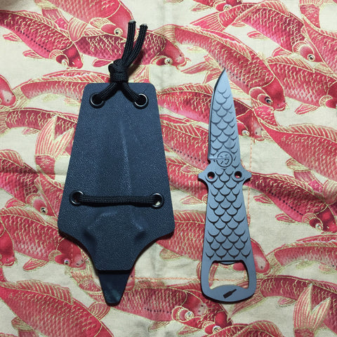 Dirte Knives - Titanium Knife - Dirte B8 - Front