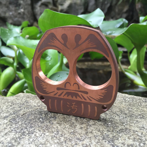 Dirte Knives - Paperweight - Copper Daruma