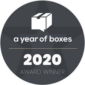 A Year Of Boxes Award Winner