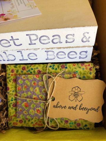 Beeswax wraps True North subscription boxes