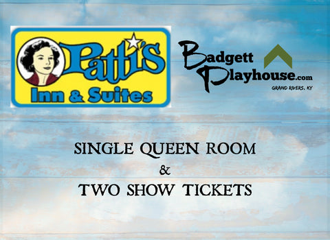 Single Queen Room and 2 Show Tickets