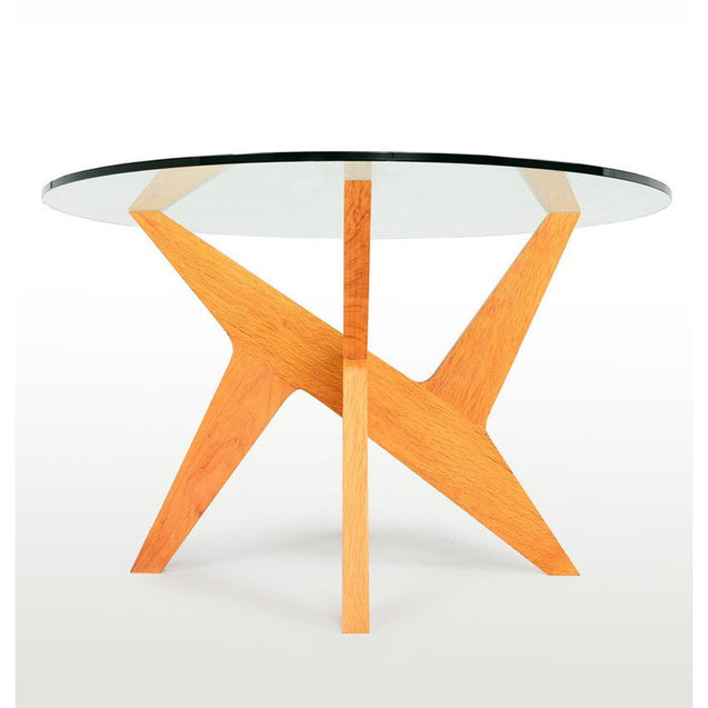 Cross Pedestal Dining Table - Reproduction | GFURN