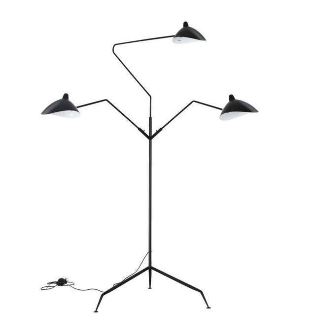 Mouille Three-Arm Floor Lamp Standing Lamp - Reproduction | GFURN