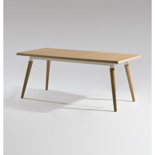 Austyn Rectangular Dining Table - Wood Top | GFURN