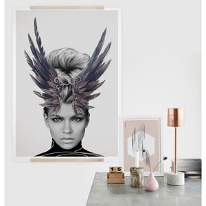 Crown of Feathers Print | GFURN
