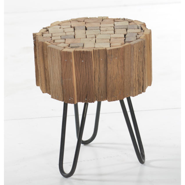 Nomad Side Table with Hairpin Legs | GFURN