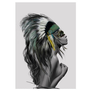 Headdress Print | GFURN