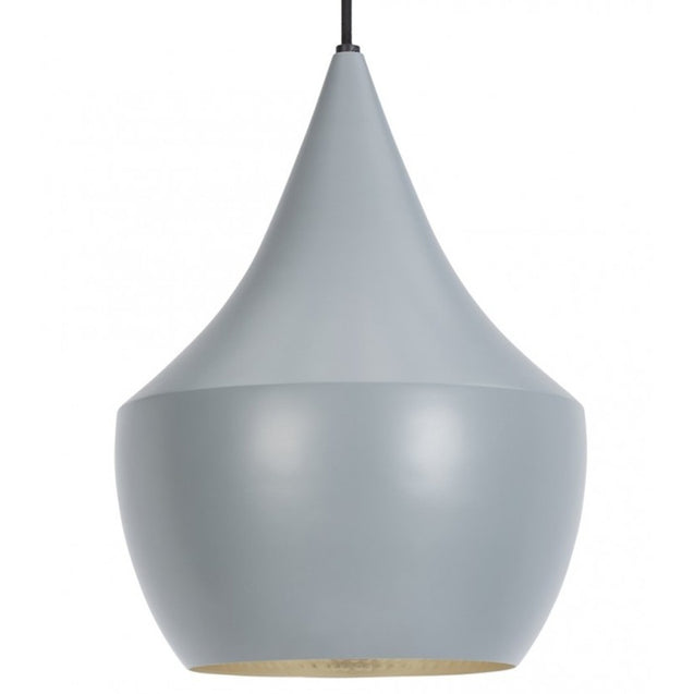 Beat Shade Fat Pendant Lamp - Grey - Reproduction | GFURN
