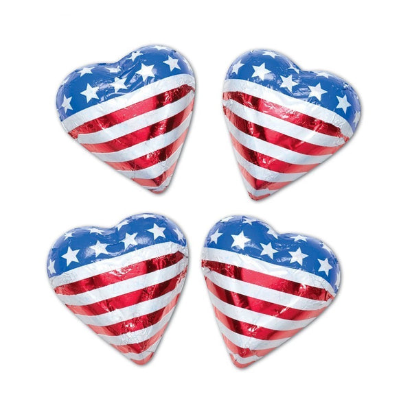Foiled American Hearts