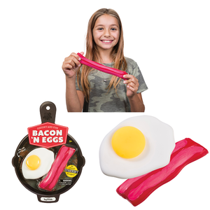 Bacon & Eggs Stretch toys