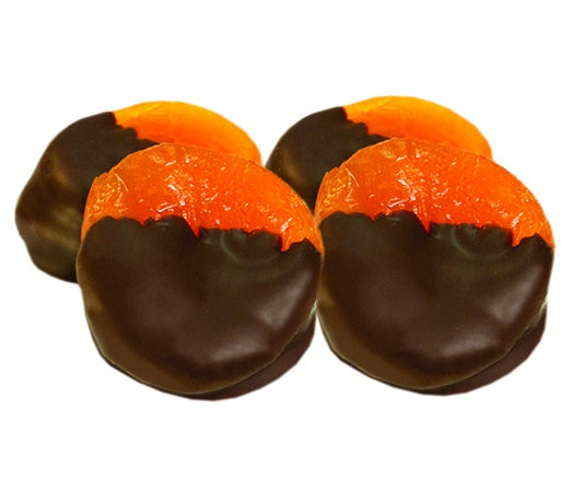 Dark Chocolate Covered Apricots