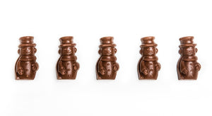 Foiled Mini Chocolate Snowmen