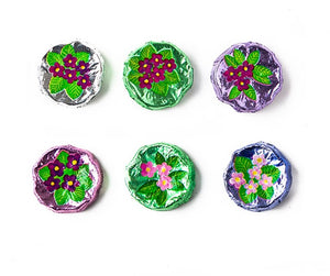 Foiled Chocolate Violets