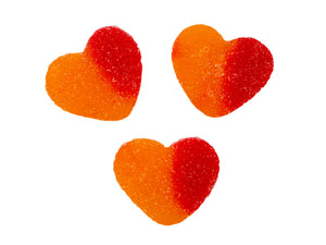 Peachy Gummi Hearts