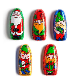 Foiled Santas & Elves