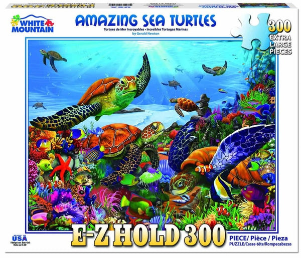 Amazing Sea Turtles PUZZLE