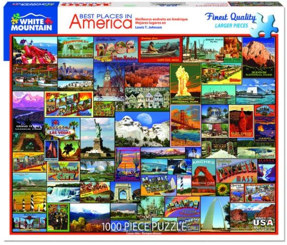 Best Places in America PUZZLE