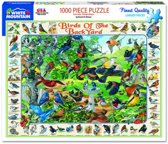 Birds of the Backyard PUZZLE