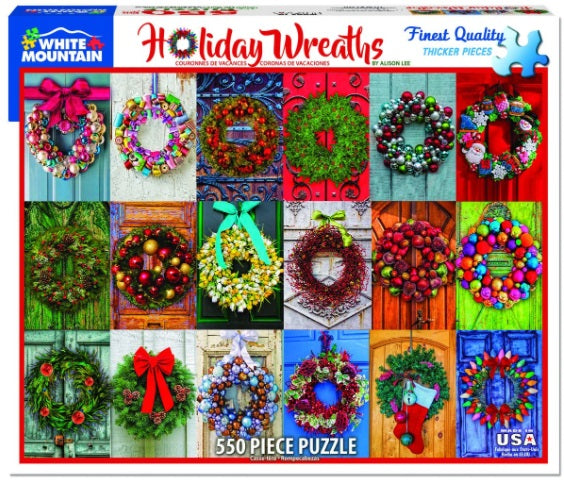 Holiday Wreaths PUZZLE