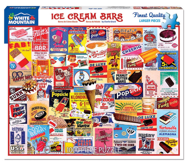 Ice Cream Bars PUZZLE