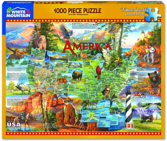 National Parks America PUZZLE