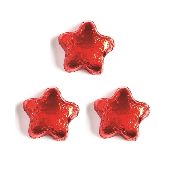 Assorted Foiled Milk Chocolate Stars
