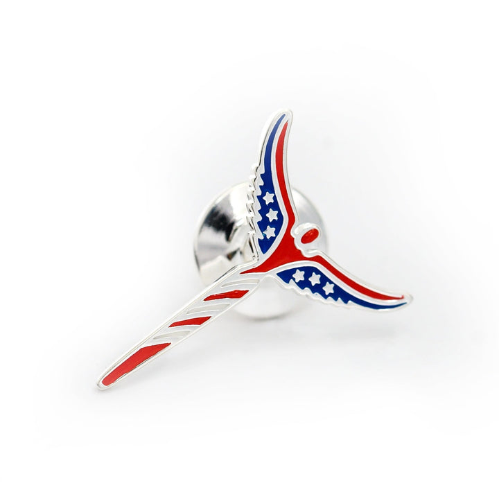 American Angel Lapel Pin