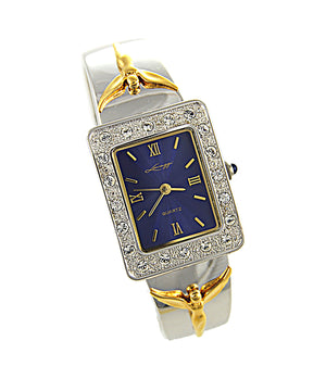 Angel of Reconciliation Bangle Watch - Lavaggi Fine Jewelry