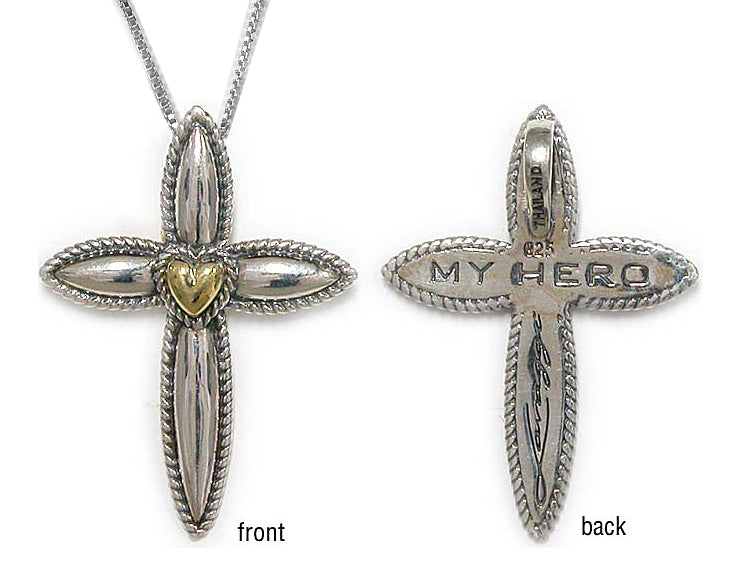 Petite My Hero Cross - Lavaggi Fine Jewelry