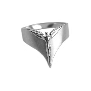 Sterling Silver Ring - Modern Angel Ring