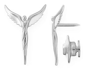 Petite Angel Lapel Pin - Lavaggi Fine Jewelry