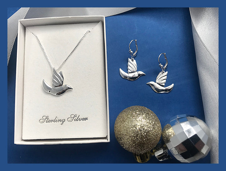 Petite Spirit Dove Set - Lavaggi Fine Jewelry