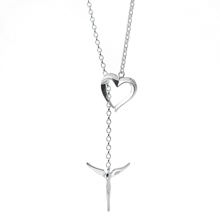 ANGEL HEART LARIAT - Lavaggi Fine Jewelry