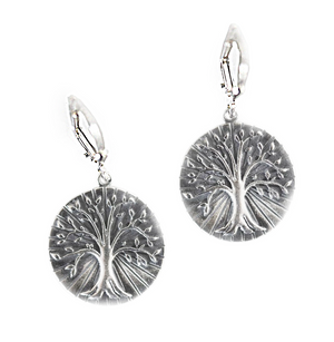 Tree of Life Earrings - Lavaggi Fine Jewelry