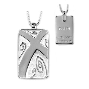 truth tag faith necklace
