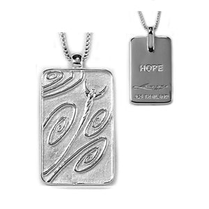 truth tag hope necklace