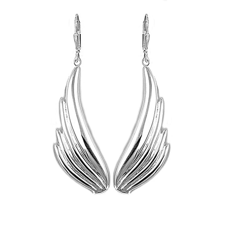 Uplifting Angel Wing Earrings - Lavaggi Fine Jewelry