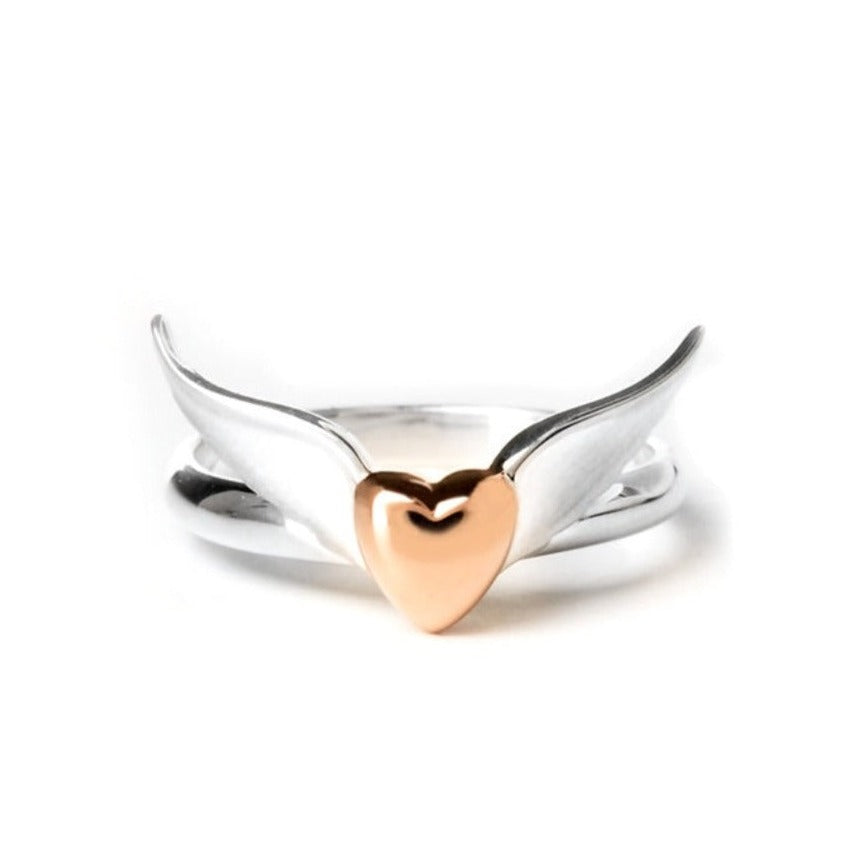 Wings Of Love Sterling Silver Rings - Artist Of Hope | Lavaggi Jewelry