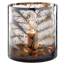 Load image into Gallery viewer, Large Fern Hurricane Candle Holder 29cm