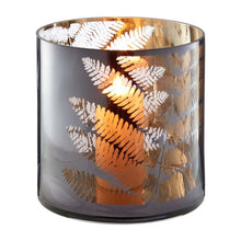 Load image into Gallery viewer, Medium Fern Hurricane Candle Holder 20cm