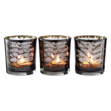 Load image into Gallery viewer, Fern Tealight Holders Set of 3