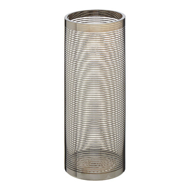 Nickel Stripe Tall Vase 30cm