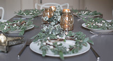 Load image into Gallery viewer, Christmas Dining Table Eucalyptus Garland