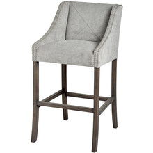 Load image into Gallery viewer, Grey Luxury Bar Stool