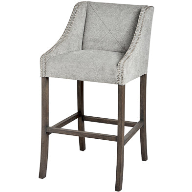 Grey Luxury Bar Stool